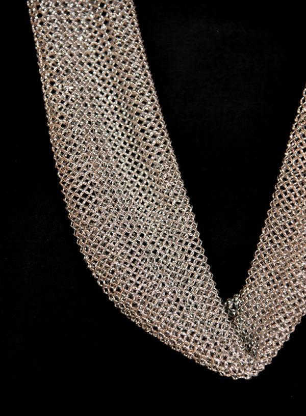 bijou-pascale-lion-paris-collier-acier-ouvrage