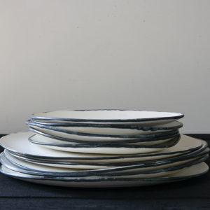art-de-fronze-cecile-gasc-porcelaine-assiette