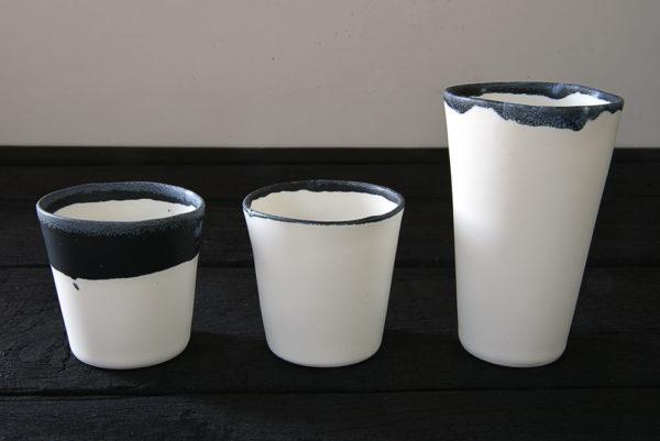 Tasse Arts de Fronze Cécile Gasc porcelaine galerie boutique ouvrage aix en provence
