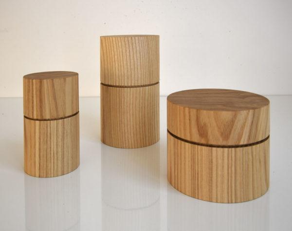 Boites bois Quentin Calabrese galerie boutique ouvrage aix en provence