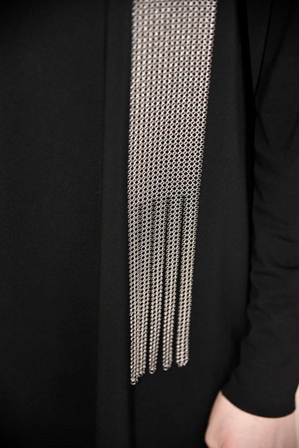 Echarpe Pascale Lion bijoux contemporrains maille galerie boutique ouvrage aix en provence