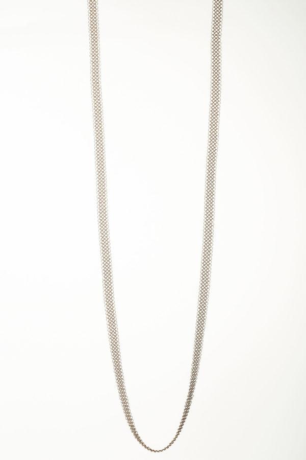 Collier 120 Pascale Lion bijoux contemporrains maille galerie boutique ouvrage aix en provence