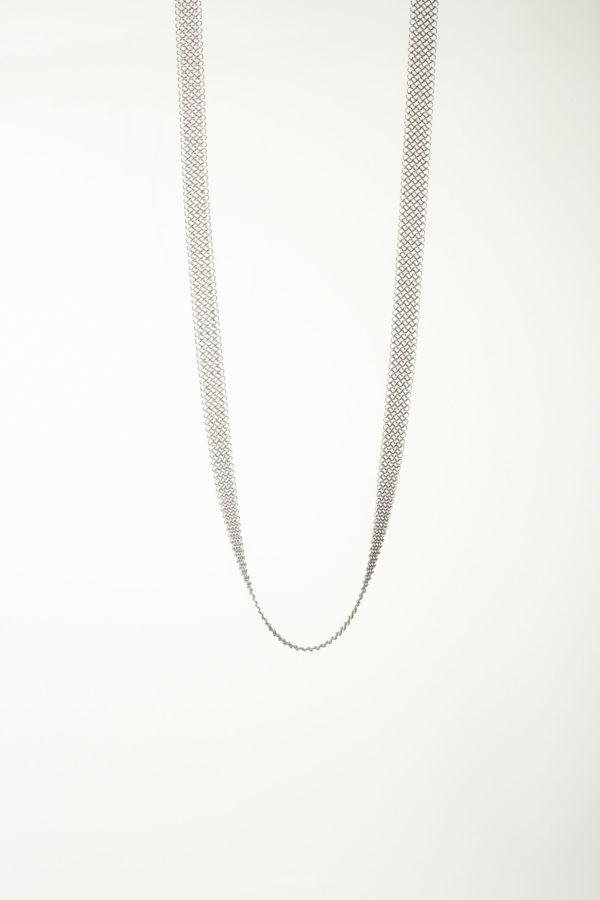 Collier 94 Pascale Lion bijoux contemporrains maille galerie boutique ouvrage aix en provence