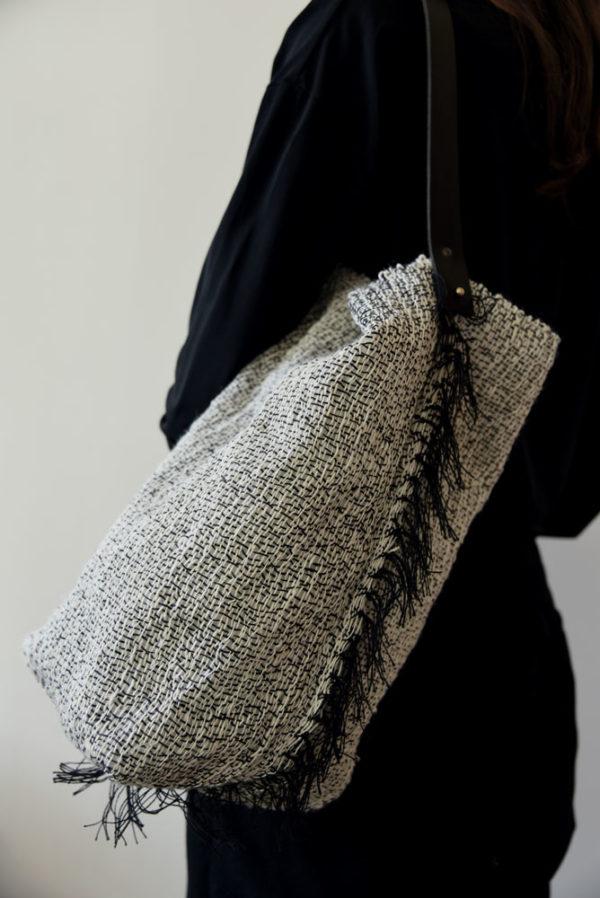 Agnès Krier Sac franges galerie boutique ouvrage aix en provence