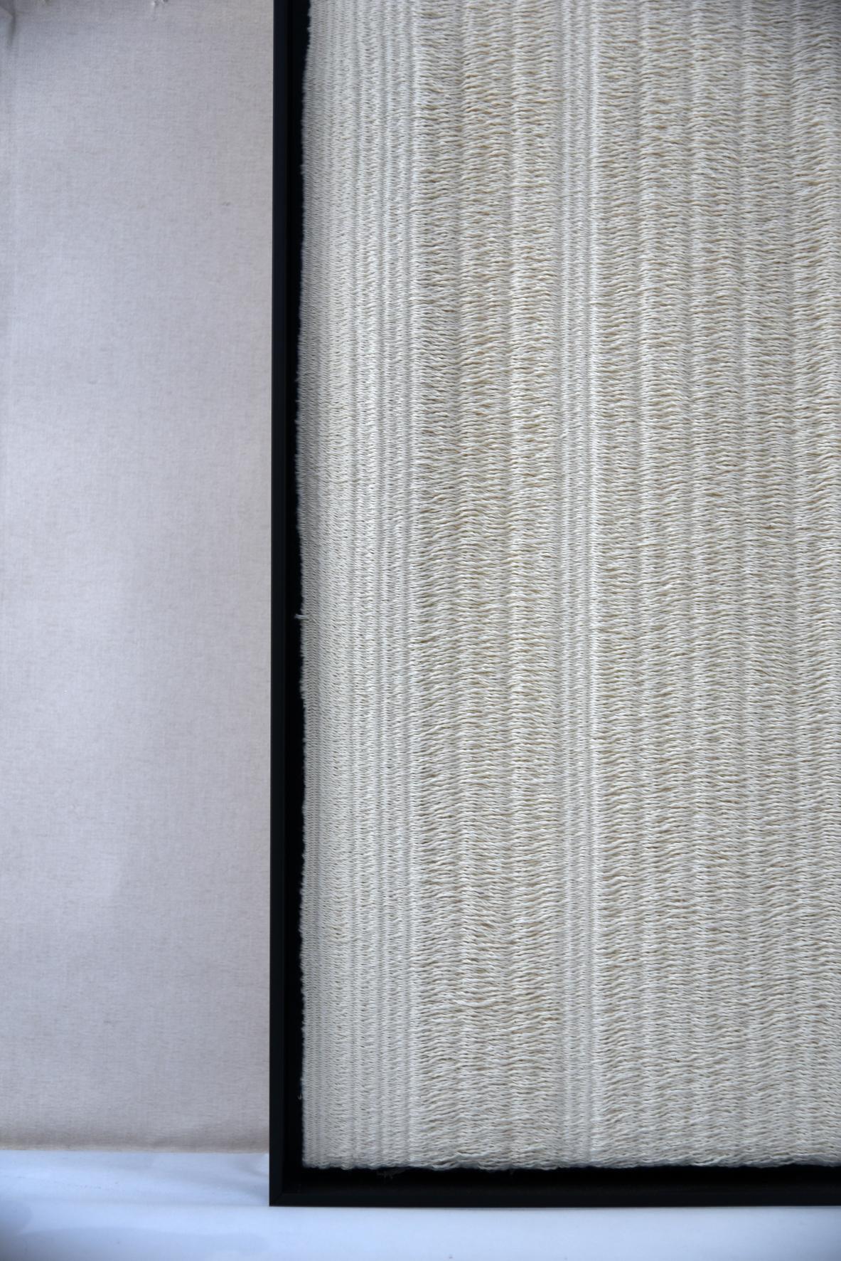 oeuvre-murale-tissage-coton-ecru-agnes-dosmas-krier