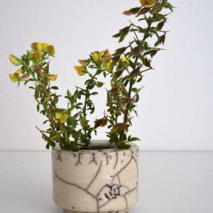 Cecile daladier vase pique fleurs