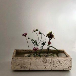 Galerie boutique ouvrage aix en provence Cecile daladier vase pique fleurs rectangle