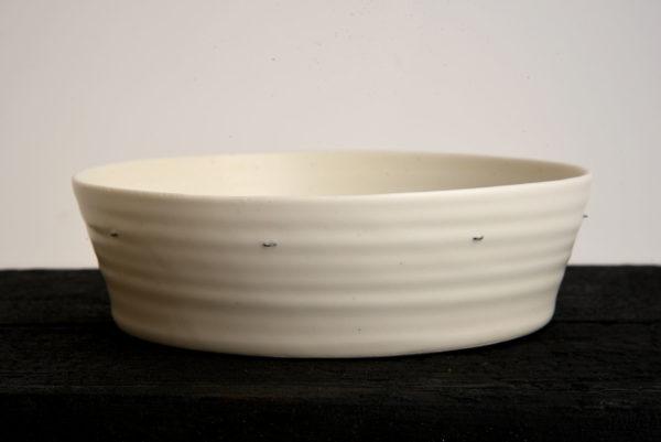 Saladier évasé Porcelaine Nathalie Audibert Céramique ouvrage boutique créateur