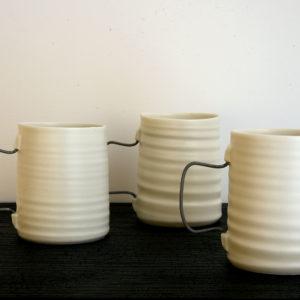 Mug Porcelaine Nathalie Audibert Céramique ouvrage boutique créateur
