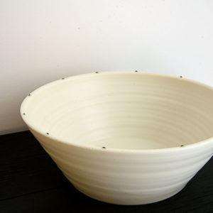 Saladier Porcelaine Nathalie Audibert Céramique ouvrage boutique créateur